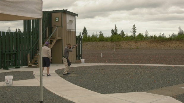 93-year-old skeet shooter