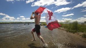 At Balsam Lake Provincial Park near Coboconk, Ont.