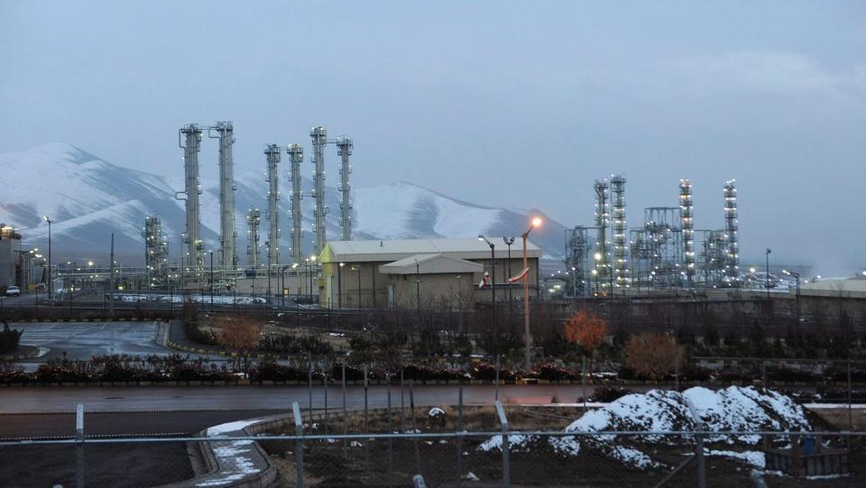 This Jan. 15, 2011 file photo shows the heavy water nuclear facility near Arak, 250 kilometers southwest of the capital Tehran, Iran. (Hamid Foroutan/ISNA via AP, File)