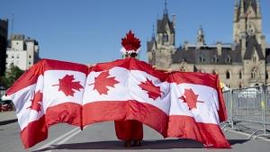 Canada Day on Parliament Hill in Ottawa