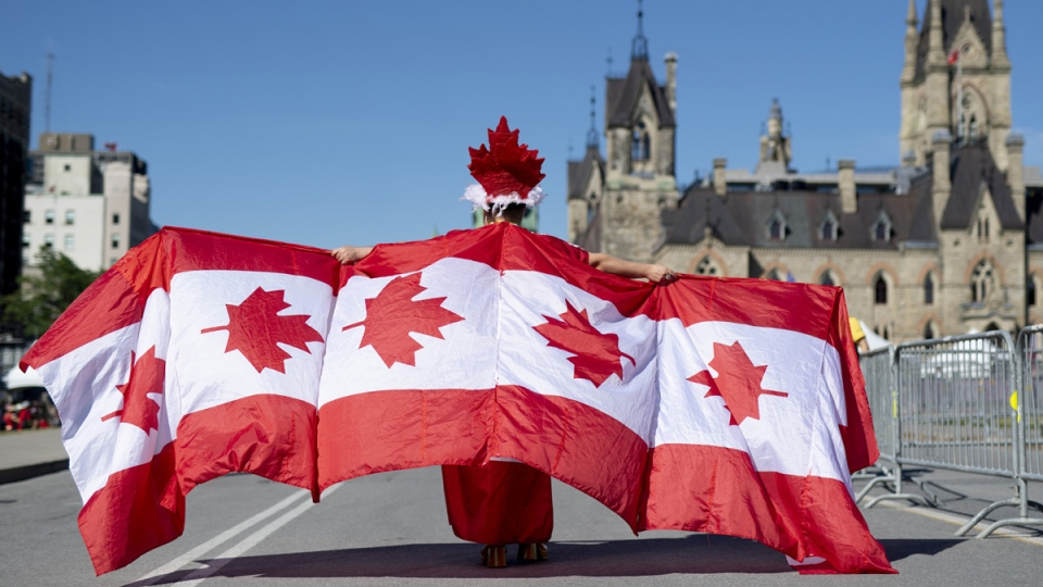 Canada Day on Parliament Hill in Ottawa