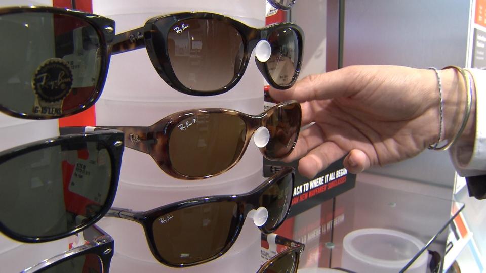 Effectiveness of older sunglasses