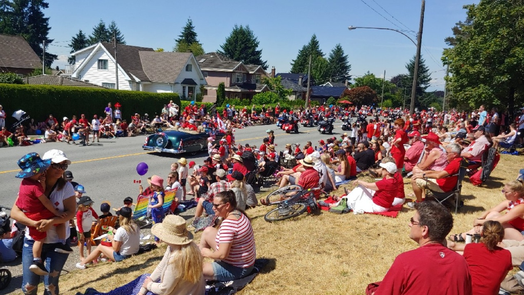 Thousands celebrate Canada Day in North Vancouver