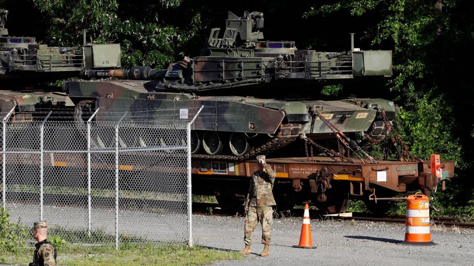 Tanks in Washington, D.C.