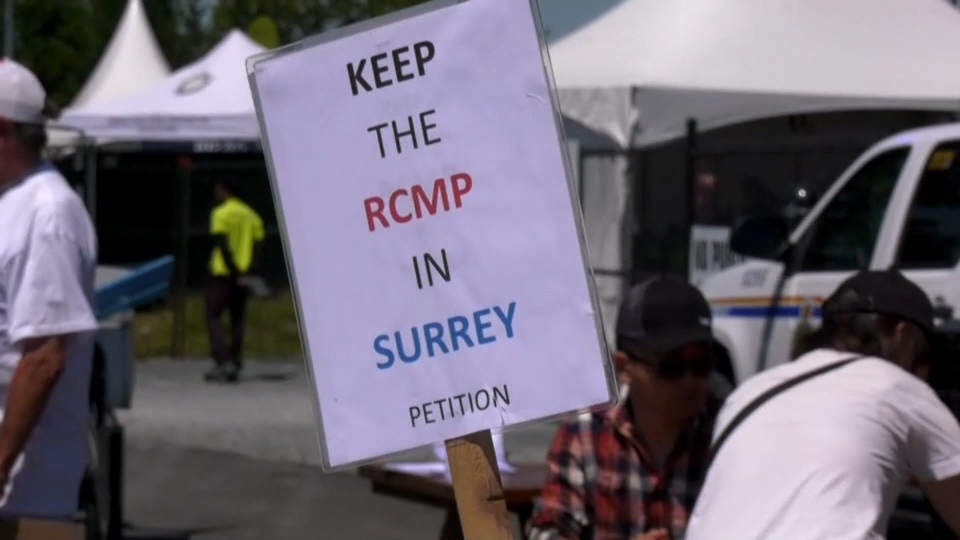 Pro-RCMP group claims discrimination