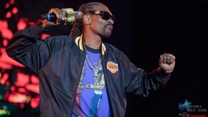 Rapper Snoop Dogg headlined the Laketown Shakedown Music Festival held over the long weekend in the Cowichan Valley, joined by Smash Mouth, Grandson, The Faceplants, Incubus, Jesse Roper, and more. (Adam Lee/Victoria Music Scene)