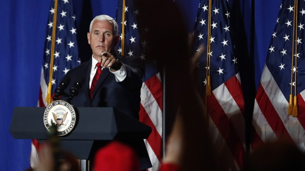 Pence cancels planned New Hampshire visit, called back to White House