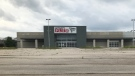 A redevelopment plan is in place for the former RONA store in the Summerside neighbourhood of London, Ont. as seen on Tuesday, July 2, 2019. (Sean Irvine / CTV London)