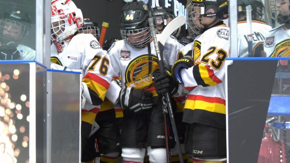 Brick hockey tournament
