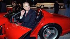 Chrysler Corporation Chairman Lee Iacocca