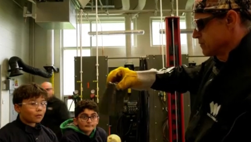 Welding camp gives Calgary students hands-on experience