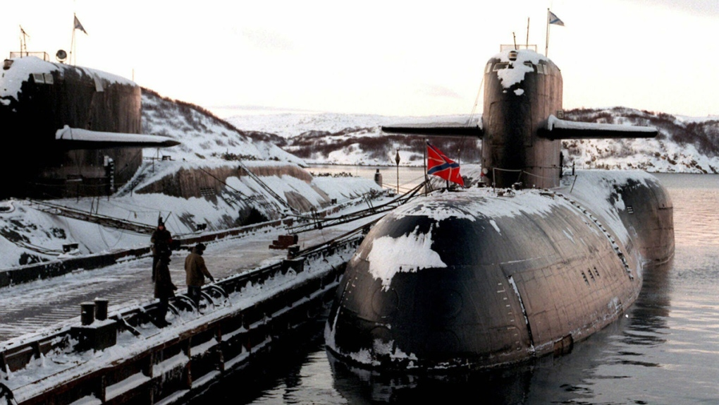 Decommissioned Russian nuclear submarines