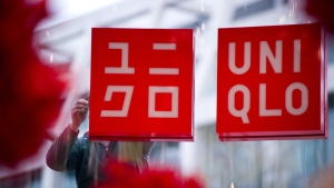 Uniqlo and other Fast Retailing brands are introducing changes to the bags given to customers in their stores. (DANIEL NAUPOLD / DPA / AFP)
