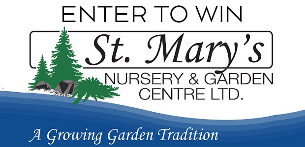 St. Mary's Nursery Giveaway Banner