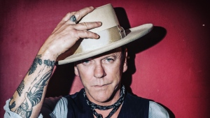 "When Kiefer Sutherland, shown in a handout photo, starts touring Canada for his country-rock album ""Reckless & Me"" this week, audiences will see a vulnerable side that he admits took some getting used to. THE CANADIAN PRESS/HO"