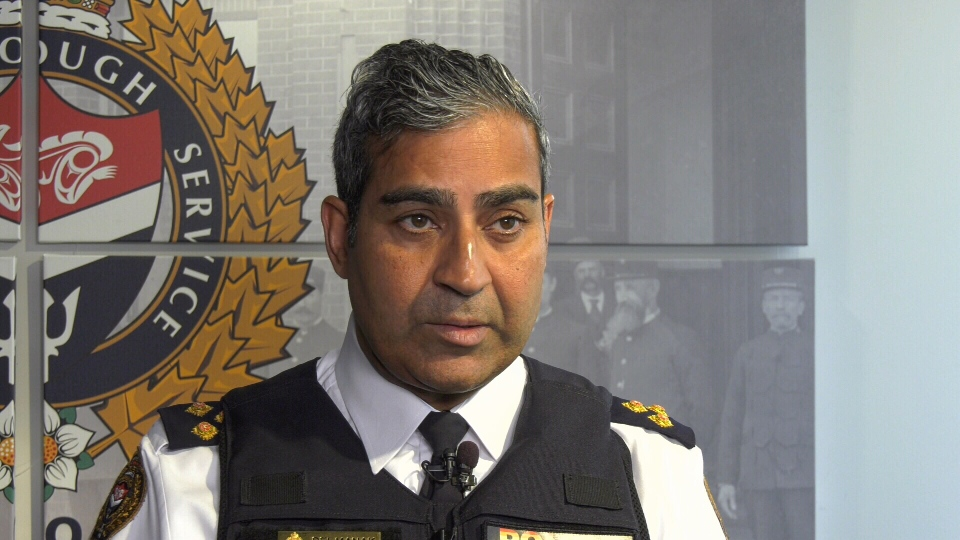 Victoria police Chief Del Manak speaks with CTV News on July 3, 2019. (CTV Vancouver Island)