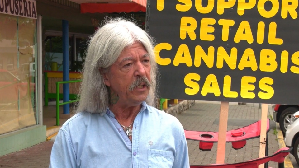 Randy Caine is calling for changes to Langley's marijuana bylaws.