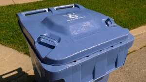 calgary recycling blue cart waste
