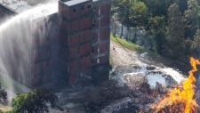 Jim Beam distillery fire in Kentucky