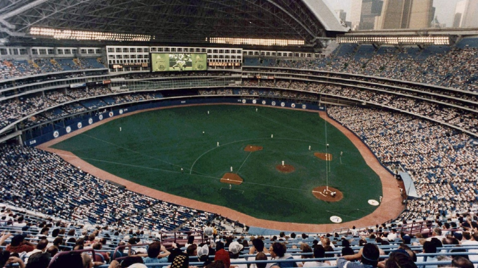 FILE--Toronto's SkyDome is shown in a 1996 file photo.( THE CANADIAN PRESS/Scott MacDonald)