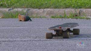 Residents shaken after skateboarder hurt in crash