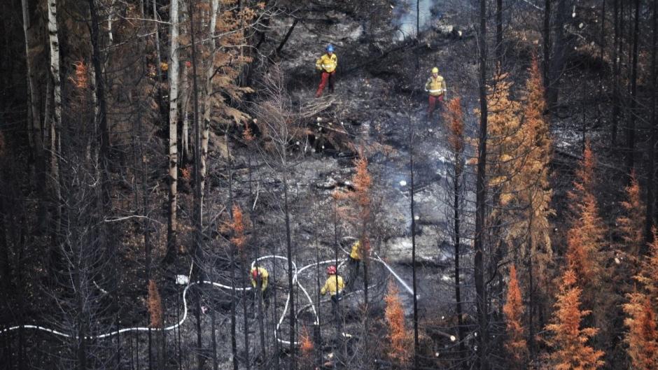 McMillan Complex, July 2 (Source: Alberta Wildfire)