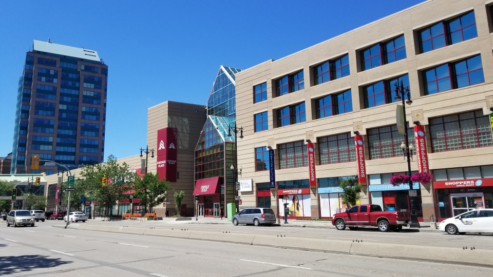 Last month Winnipeg city council agreed to a plan that would see the mall, property and parkade sold to Starlight Investments. File image. (Daniel Timmerman/CTV News)