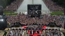 U.S. President Trump speaks on Independence Day