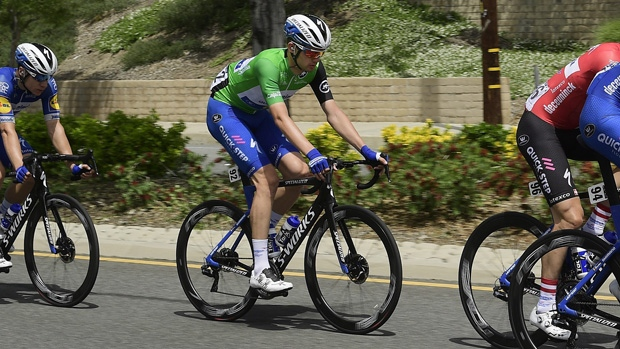 Kasper Asgreen at the Tour of California
