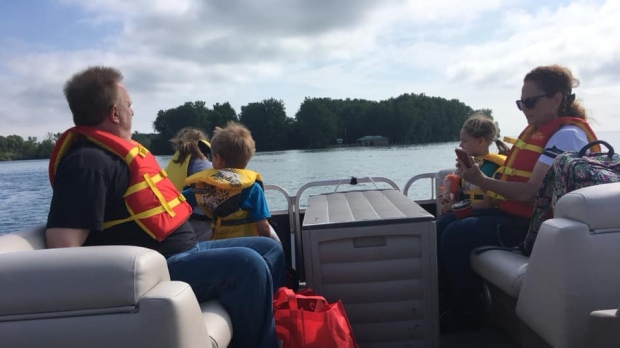 A look at the Peche Island boat tour in Windsor, Ont., on Wednesday, July 3, 2019. (Chris Campbell / CTV Windsor)