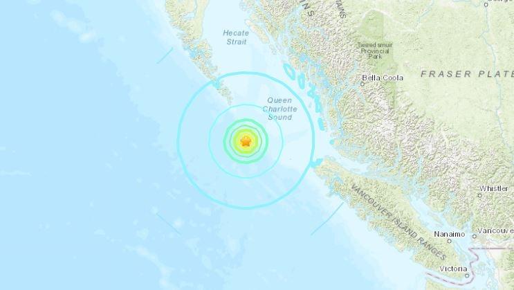 6.2 magnitude earthquake