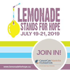 Lemonade Stands for Hope Ad
