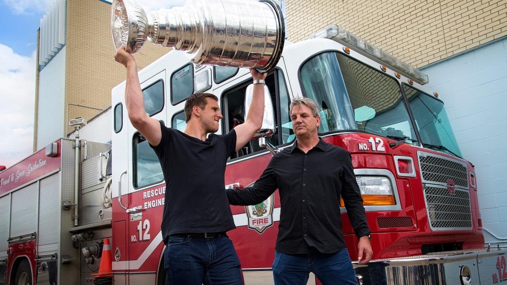 Brayden Schenn brings home the Stanley Cup