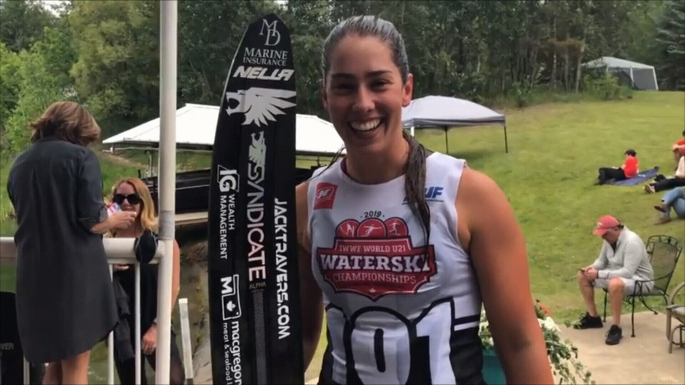 North Bay native Jamiee Bull set a new world record at the U21 Waterski Championships.