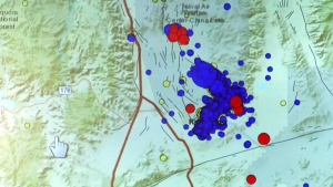 Officials give update on California earthquake