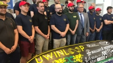 UWindsor and St. Clair students to compete in Space-X Hyperloop competition (Angelo Aversa/CTV)