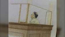 Rajinder Singh Atwal court sketch