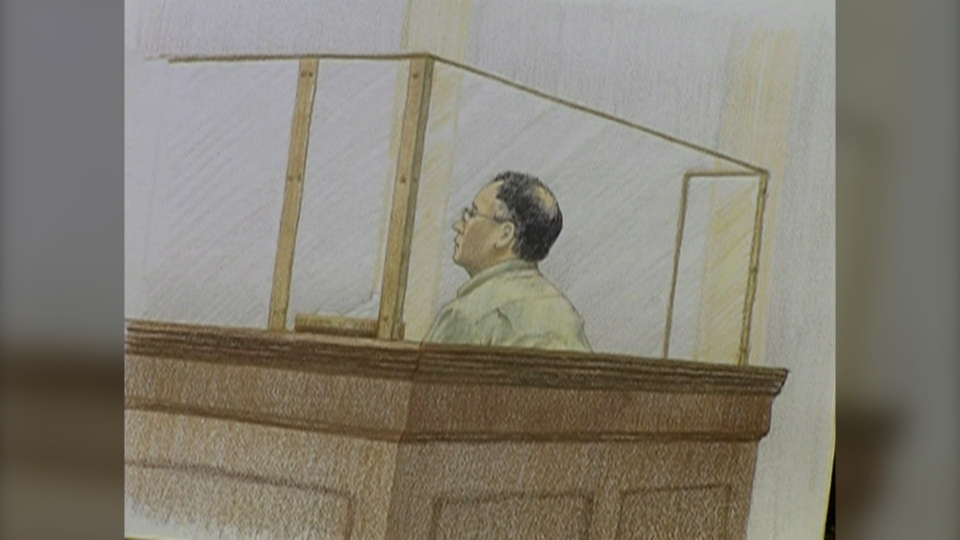 Rajinder Singh Atwal is seen in this court sketch from his trial. (file photo)