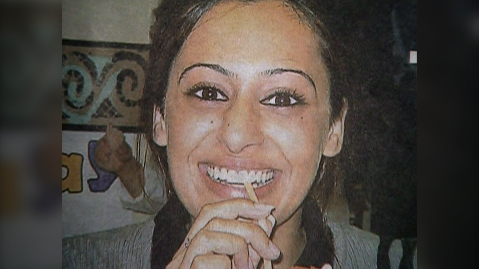 Amandeep Atwal is seen in this file photo. Her father Rajinder Singh Atwal is currently serving a life sentence for her murder.