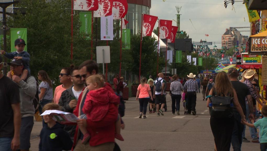 calgary stampede attendance stampede park
