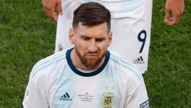 Messi Slams Referees Corruption After Copa America Red Card Ctv News