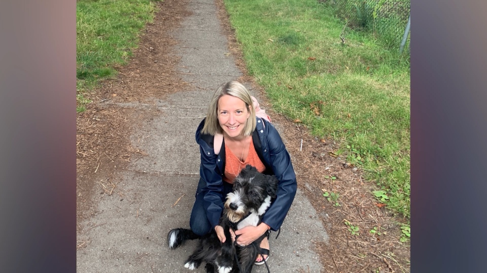 Darcy Matheson finds stolen dog Suzie and helps reunite her to her owner.