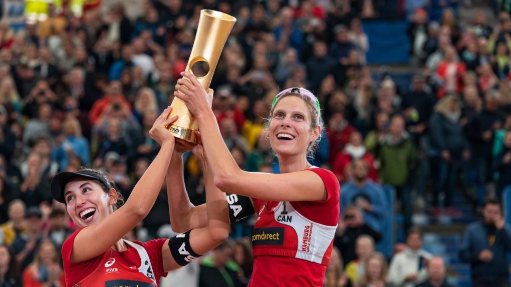 Sarah Pavan world championship 2019
