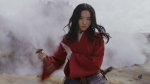 Disney's first trailer for the live-action 'Mulan' remake showed the character wielding a sword as swiftly as a coursing river. (Walt Disney Studios)
