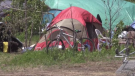 The sizeable homeless community in Moncton, who generally sleep in tents, say warm weather like this can be very dangerous for them, with few options of places to cool down.
