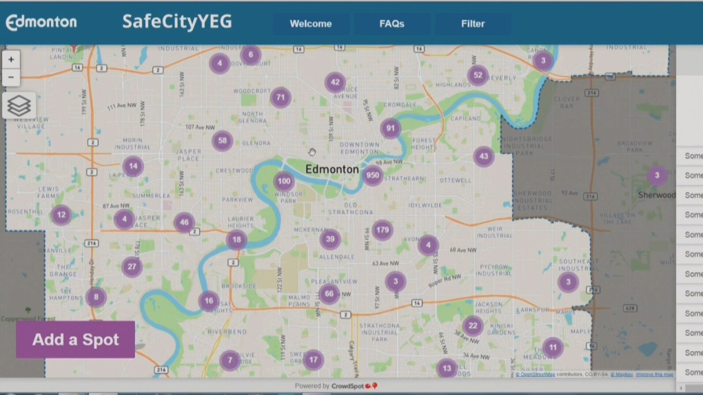 New interactive city website maps safe, unsafe locations