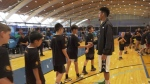 Danny Green hosts basketball camp in Vancouver