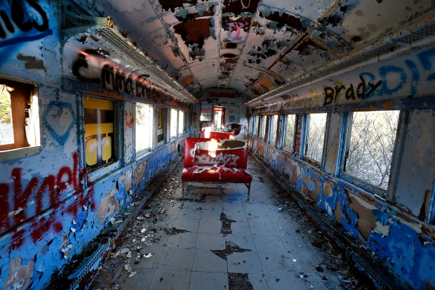 Adventurers flock to abandoned amusement park
