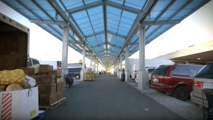 The Ontario Food Terminal in Etobicoke is seen. (YouTube / Ontario Food Terminal Board)