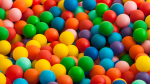 Plastic balls are seen in this undated stock image. (Shutterstock)